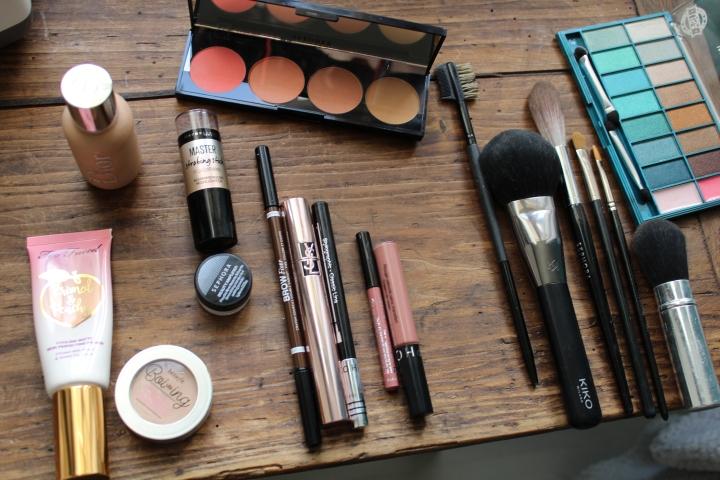 Les produits que j'utilise pour un maquillagenaturel.