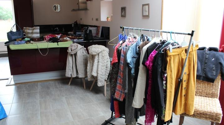 J'ai testé le vide dressing maison au Domaine de Bonnefontaine à Saonnet, ennormandie